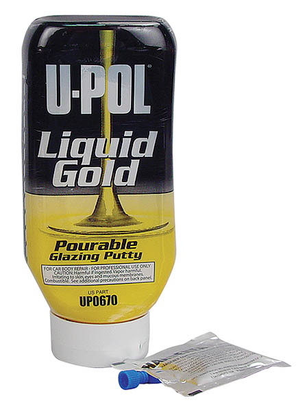 LIQUID GOLD™: Pourable Glazing Putty