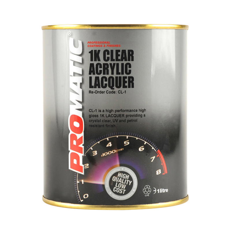 ProMatic 1K CLEAR ACRYLIC LACQUER 1 litre