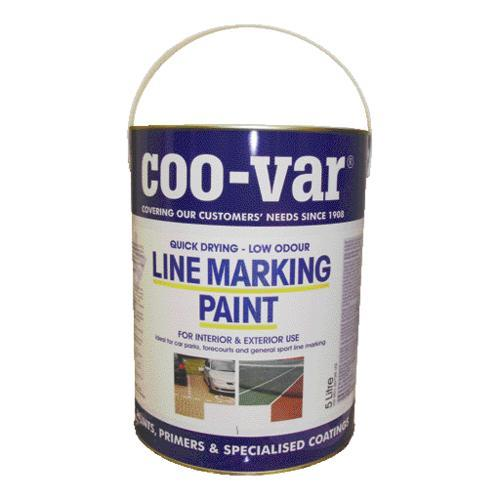 Quick drying Low odour Line marking paint 5litre White