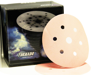TORNADO flexible abrasive discs 6+1 hole