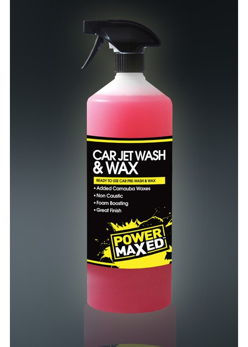 CAR JET wash & wax