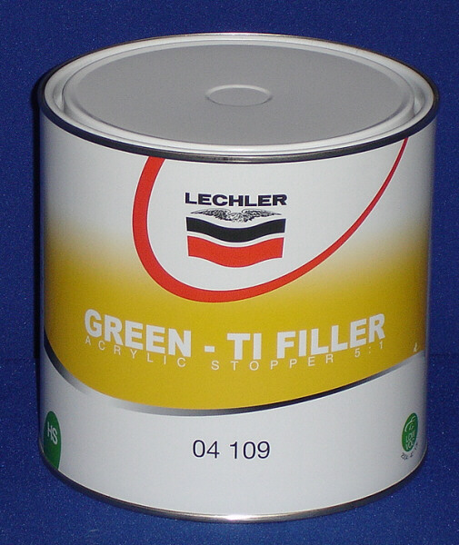 04109 - GREEN TI FILLER (5:1)